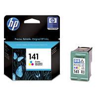 Оригинальный струйный цветной картридж HP - 141, Cyan, Magenta, Yellow