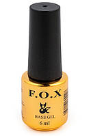Базовое покрытие для ногтей F.O.X Base Grid 6 мл.