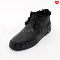 Мужские ботинки дублёная кожа, фото 1