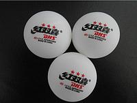 Мячи, настольный теннис DHS 3*** T.T.Ball - 6 шт./упаковка