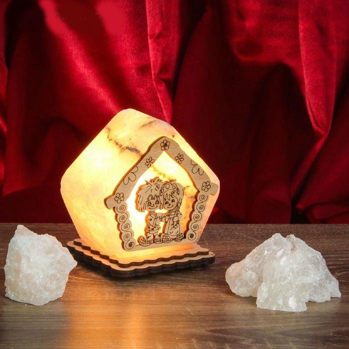 Соляной светильник Домовенок маленький