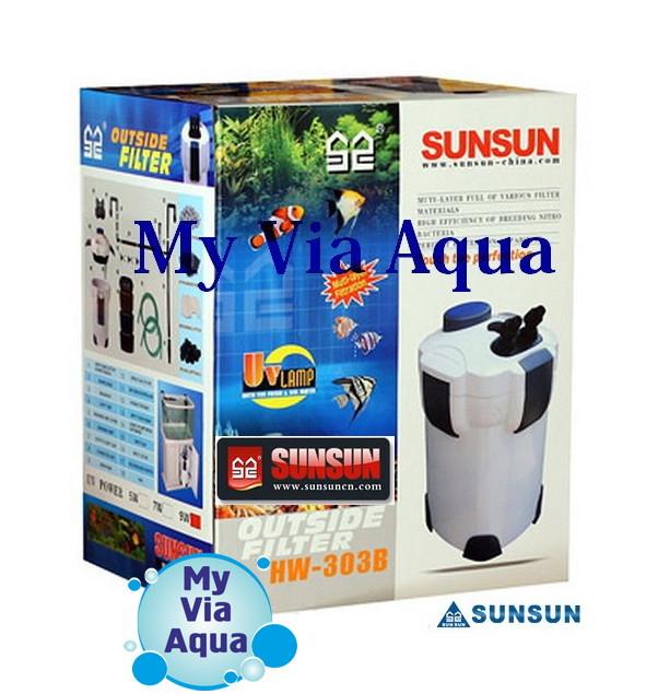 Внешний фильтр для аквариума SunSun HW-303B
