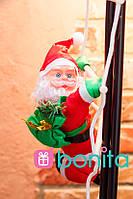Новогодняя фигурка Bonita Дед Мороз 35 см на лестнице, фото 1