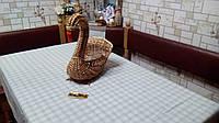 Скатерть на лене, фото 1