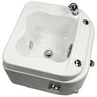 Гидромассажная акриловая ванночка для SPA педикюра СПА-6