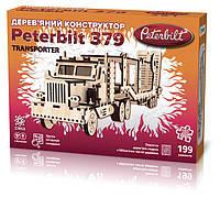 Дерев'яний 3Д конструктор Peterbilt Transporter (304488)