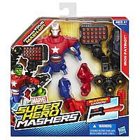 Разборная фигурка супергероя Железный патриот -  Iron Patriot, Super Hero Mashers, Hasbro, фото 1