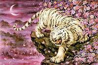 Схема для вышивки бисером   Бенгальский тигр РКП-147