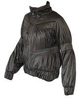 Куртка спортивная женская Adidas J ADILIBRIA P08544 (темно серая, весна/осень, влагонепроницаемая, адидас)