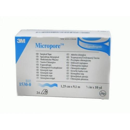 Хірургічний пластир Micropore™ 1.25 см х 9.1 м , тілесний колір