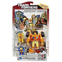 Трансформер-автобот Скуп - Scoop, Deluxe Class, 30th Transformers, Generations, Hasbro, фото 1
