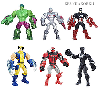 Набор разборных фигурок супергероев 6 в 1 - Super Hero Mashers, Hasbro, фото 1