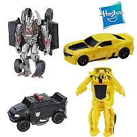 Набор трансформеров Бамблби и Берсеркер, в 1-шаг - Bumblebee&Berserker, TF5, One step, Turbo Changer, Hasbro, фото 1