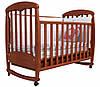 Детская кроватка Соня ЛД 1 (ольха)