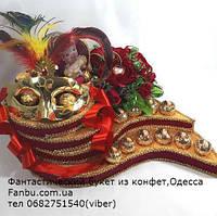 """Новогодняя подарочная композиция из конфет """"Бал-маскарад"""", фото 1"""