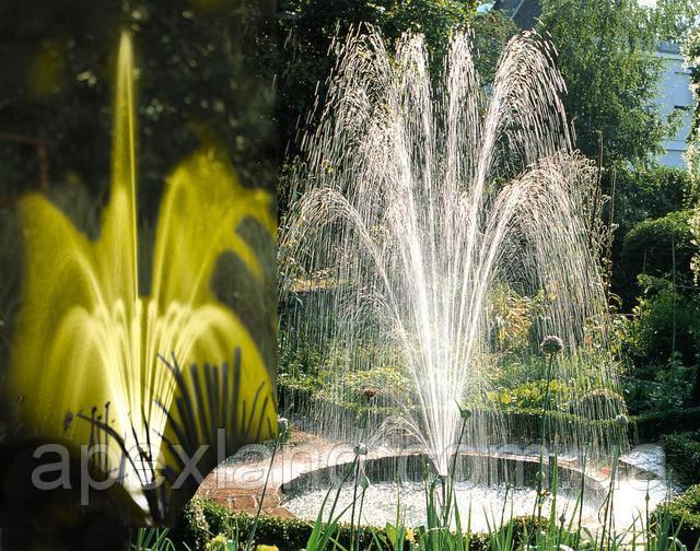 фонтанная подсветка