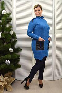 Брюки-лосины т.синие - Модель Л531