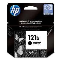 Оригинальный картридж черный текстовый HP - 121b, Black