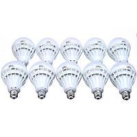 Комплект лампочек LED 18W круглых, ( набор из 10шт.)