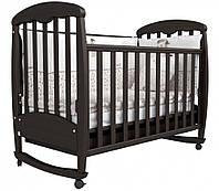 Детская кроватка Соня ЛД 1 (орех)