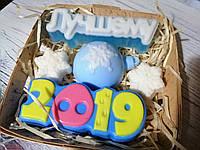 """Подарочный/сувенирный набор мыла для рук """"Новогодний"""",5 мыл, фото 1"""
