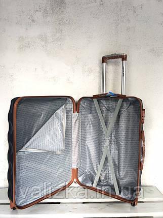 Валізу з полікарбонату середній валізу м'ятний Польща / Валіза середня з полікарбонату, фото 2