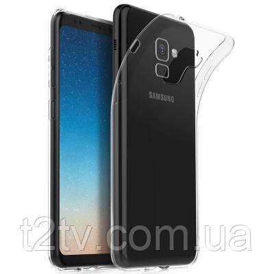 Чехол для моб. телефона для SAMSUNG GalaxyA8 Plus 2018 Clear tpu (Transperent) Laudtec (LC-A73018BP)