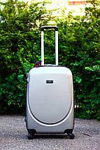 Комплект пластиковых чемоданов : малый , средний , большой . Комплект валіз пластикових  Польша , фото 3