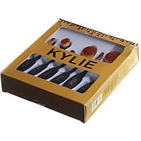 Набор кистей для макияжа KYLIY набор 6 шт