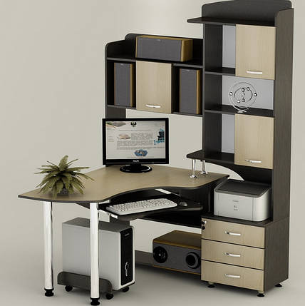 Компьютерный угловой стол СК-18 ''Вельс'', фото 2