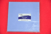 Термопрокладка HALNZIYE HC30 1.5мм 100х100 синяя 4 Вт/(м*К) термоинтерфейс для ноутбука видеокарты, фото 1