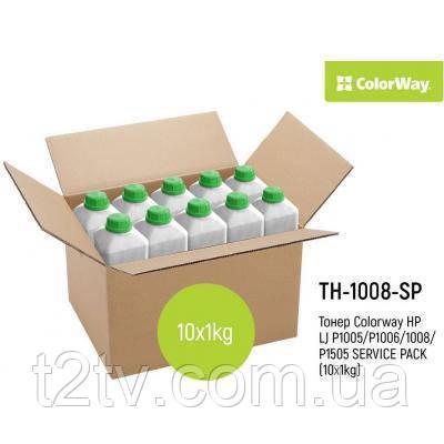 Тонер HP LJ P1005/P1006/1008/P1505 SERVICE PACK (10x1kg) ColorWay (TH-1008-SP)
