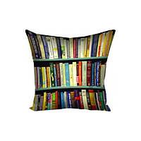 Подушка 40 х 40 см Библиотека (98-97572)