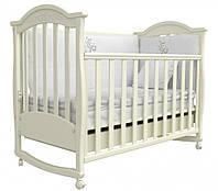 Детская кроватка Соня ЛД 3 маятник + шухляда (слоновая кость)