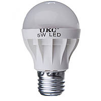 Светодиодная лампа UKC LED E27 5W Белый свет (sp_1204)