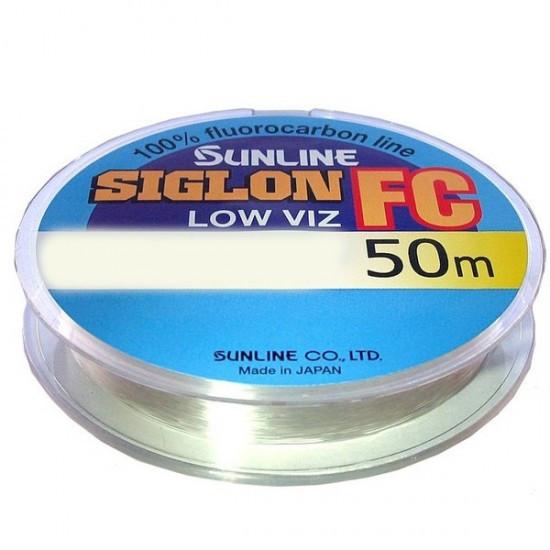 Леска Sunline SIG-FC флюорокарбон 50м 0,490мм 12кг поводковый