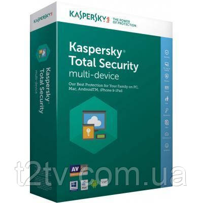 Антивирус Kaspersky Total Security Multi-Device 3 ПК 1 year Base License (KL1919XCCFS)