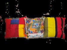 Подушка из гречневой шелухи 30x30см
