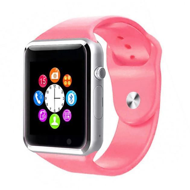 Умные смарт-часы Smart Watch A1 Pink