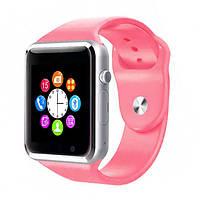 Умные смарт-часы Smart Watch A1 Pink, фото 1
