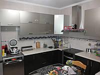 Реставрация кухни, фасад крашеное МДФ