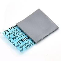 Термопрокладка Laird T-FLEX 740 1.0мм 15х15 серая 5 Вт/(м*К) термоинтерфейс для ноутбука (TPr-TFLEX740), фото 1