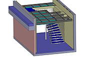 Металлическая лестница на центральном косоуре, фото 1