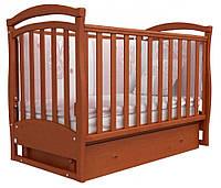 Детская кроватка Соня ЛД 6 маятник (ольха)