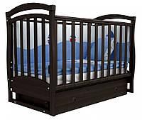 Детская кроватка Соня ЛД 6 маятник (орех)