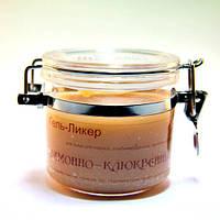 """Гель """"Ликер"""" ЛИМОННО-КЛЮКВЕННЫЙ для жирной, проблемной, комбинированной кожи 500 г"""