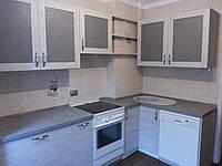 Кухня с фасадами ДСП CLEAF, фото 1