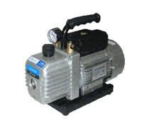 Вакуумный насос 72 л/мин двухступенчатый+вакууметр+обратный клапан