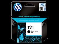 Оригинальный черный струйный картридж HP - 121, Black