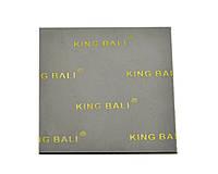 Термопрокладка KingBali DG 0.5 мм 60х60 серая 4 Вт/(м*К) термо прокладка термоинтерфейс, фото 1